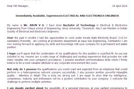 electrical engineer cover letter amitdhull co