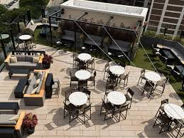 the j parker rooftop restaurant and bar lounge of hotel lincoln