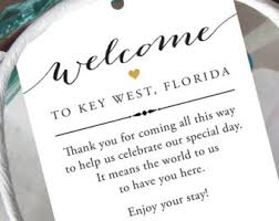 welcome wedding bags destination welcome etsy