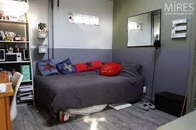 couleur de chambre ado rénovation décoration chambre ado gris
