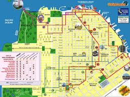san francisco map detailed city maps stadskartor och turistkartor thailand usa travel portal