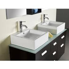 abodo 55 inch double sink bathroom vanity set