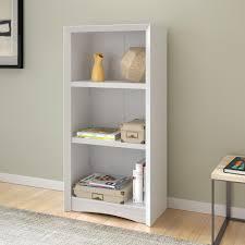 White Two Shelf Bookcase by Hampton Bay 5 Shelf Standard Bookcase In White Thd90004 1a Of