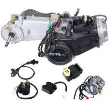 150cc gy6 scooter atv go kart engine motor complete carburetor cvt