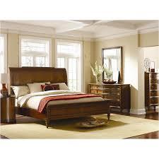 8503 315 schnadig furniture queen sleigh bed fruitwood