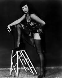 rare pictures pinup queen bettie accused inciting