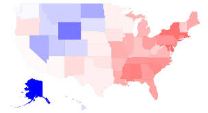 heat map us states u s heat map gender population ratios by state see the world