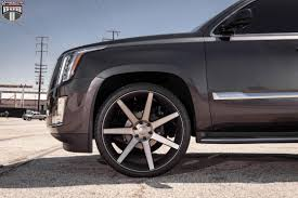 future cadillac escala cadillac escalade dub future s127 wheels black u0026 machined with