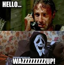 Dead Phone Meme - the real rick grimes phone call the walking dead memes