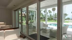 Modern Exterior Sliding Glass Doors by Kolbe Expansive Openings Youtube