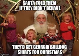 Georgia Bulldog Memes - pedo santa imgflip