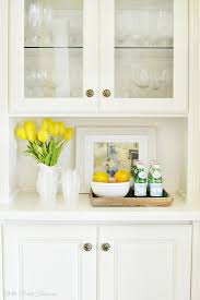 China Cabinet Decor Built In China Cabinet Makeover At The Picket Fence