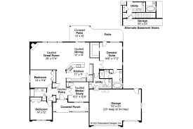 Ranch House Plan ranch house plans fieldstone 30 607 associated designs