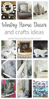 Purple Home Decor Wintry Home Decor Ideas Two Purple Couches