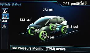 tire light on car flat tire on bmw i3 tpms to the rescue