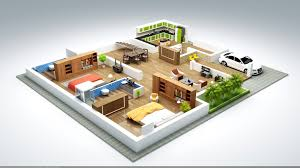 marvellous ideas 13 1500 sq ft house plans in 3d three bhk design