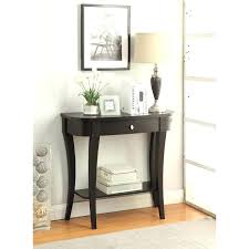 Small Entry Table Entry Table With Mirror Mission Style Entry Way Foyer Console
