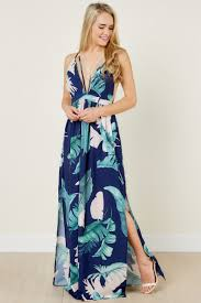 navy maxi dress navy maxi floral print dress back 68 00