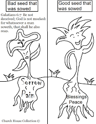 church house collection blog galatians 6 7 coloring page