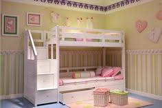 White Pine Bunk Beds Kate Brand New White Pine Blue Wooden Bunk Bed With Mattresses