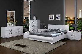 chambre high eddy high gloss white bedroom set 4088 34 moderne chambre
