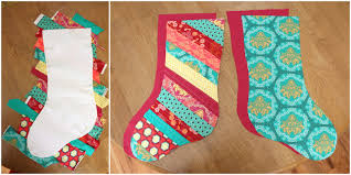 christmas stocking tutorial diary of a quilter a quilt blog