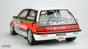 si e auto 1 inno model honda civic si e at gr a mugen jtcc 1986 resin scale 1