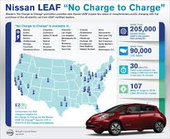 nissan canada battery warranty nissan adds 11 new markets to leaf no charge to charge program