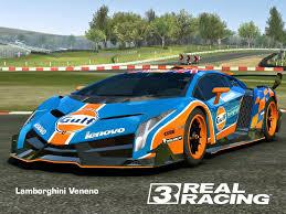gulf racing wallpaper real racing 3 mod skin livery vinly 2013 lamborghini veneno skin