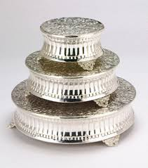 silver wedding cake stand cake stand silver 18 grand rental station