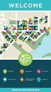 Miami Design District Map by Coconut Grove Miami About The Bid
