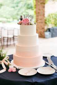 wedding cake buttercream pink ombre buttercream wedding cake