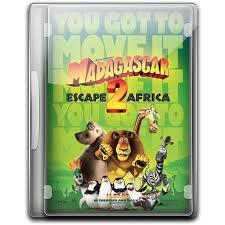 madagascar 2 escape africa icon english movie iconset danzakuduro