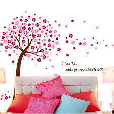 beautiful design brand new giant pink cherry blossom flowers tree beautiful design brand new giant pink cherry blossom flowers tree wall stickers decal art mural nursery wallpaper for home decor in wall stickers from home