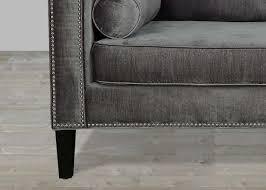 Grey Velvet Sofas Charcoal Grey Velvet Sofa Centerfieldbar Com