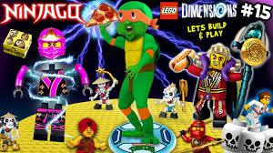 ninja turtles power pizza lets build u0026 play lego dimensions 15