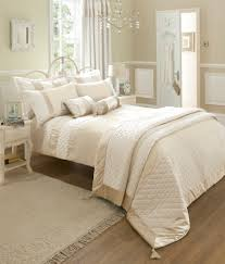 classique cream catherine lansfield duvet covers