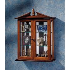Corner Cabinet Shelves by Curio Cabinet Hanging Curio Cabinet Withass Doorhanging In Dark