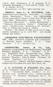 1922 who u0027s who in engineering company a graces guide