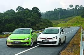 vw volkswagen 1700km road trip in vw golf gti and scirocco sport torque