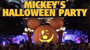 mickey u0027s halloween party overview 2017 disneyland youtube