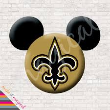 new orleans saints mickey mouse head digital download new