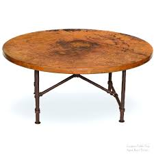 Copper Side Table Coffe Table Copper Coffee Table Stone Shale Brass And