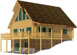 chalet style chalet style log home kits