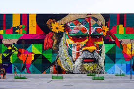 rio s olympic boulevard unveils massive mural celebrating one of the most impressive works in our recent spotlight on rio de janeiro s vibrant street art scene is a brand new masterpiece by brazilian artist eduardo