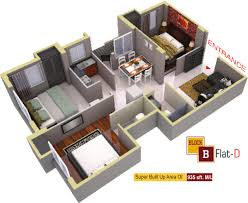 250 Square Foot Apartment Floor Plan by 769 Sq Ft 2 Bhk 1t Apartment For Sale In Aatreyee Nirman Sonatanee