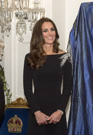 Kate Middleton Dresses Kate Middleton Honours New Zealand In Silver Fern Gown Dress No