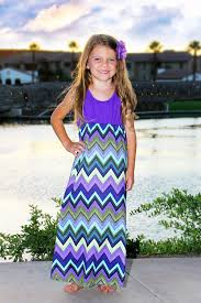 chevron maxi dress purple chevron dress for toddlers mayah fashion