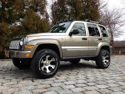 2005 jeep liberty limited crd turbo diesel lifted cars and