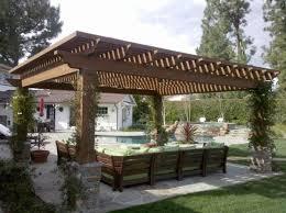 Backyard Pergola Design Ideas Triyae Com U003d Pergola Ideas For Small Backyards Various Design